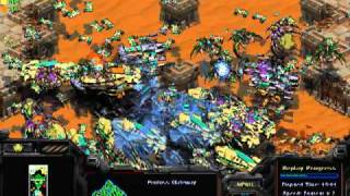 Starcraft Brood War - 3 Vs 3 Insane CPU (almost 2 Hours)