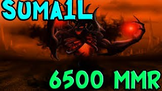 Suma1L 6500 MMR Plays Shadow Fiend Dota 2