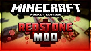 REDSTONE IGUAL DE PC (MOD) - MINECRAFT PE 0.12.1