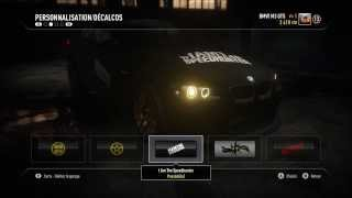 Personnalisation/Tuning dans Nfs Rivals