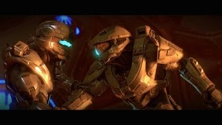 Best Scene in Halo 5 - Master Chief vs Spartan Locke (Halo 5: Guardians)