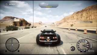 Need for Speed: Rivals - Bugatti Veyron Super Sport | Top Speed 416 KMH [HD]
