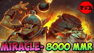 Dota 2 - Miracle- 8000 MMR Plays Party | Techies | vol #2