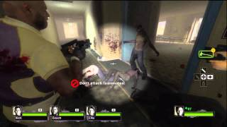 Left 4 Dead 2 - Dead Center Hotel HD Gameplay Xbox 360