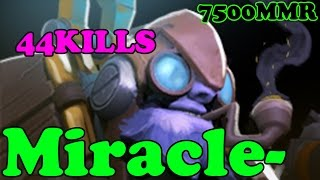 Dota 2 - Miracle 7500 MMR Plays Tinker vol 3# - Ranked Match Gameplay
