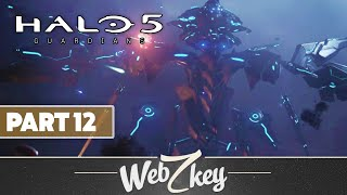 "Halo 5 Guardians Co-op Walkthrough Gameplay Part 12 - Mission 12: ""Battle of Sunaion"" (XB1)"