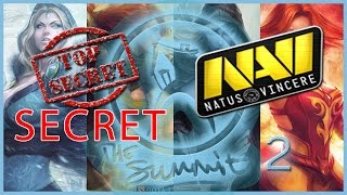 NaVi vs Secret The Summit 2 Dota 2 RUS