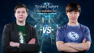 StarCraft 2 - elfi vs. Jaedong (PvZ) - WCS Premier League Season 2 2015 - Group H