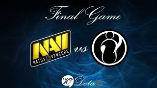 Na'Vi vs IG - Финальная 4 Игра (The International 2)Рус Комментарии