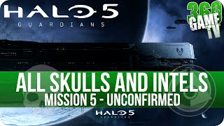 Halo 5 Guardians All Skull and Intel Locations Mission 5 Unconfirmed - All Collectibles Guide Part 5