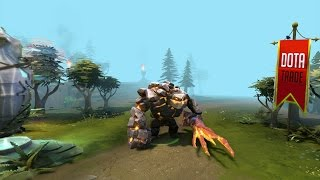 The Igneous Stone Tiny set preview Dota 2