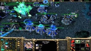4v4 Random Team #33 Warcraft 3 The Frozen Throne Battle net Multiplayer Commentary