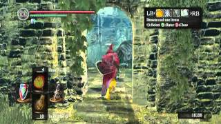 "Dark souls walkthrough for xbox360 and Ps3 pt.25 ""Priscilla the Half-Breed"""