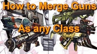 How to merge your guns as ANY class