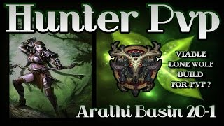 World of Warcraft - Hunter Pvp Patch 6.2 - Arathi Basin Pawnage (New Lone Wolf Pvp Build)