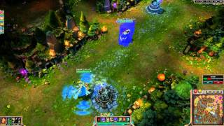 League of Legends - Sunfire cape graphic bug