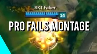 Pro Players Fails Montage | (League of Legends)