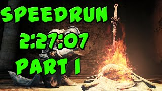 Dark Souls 2 Speedrun - ALL BOSSES in 2:27:07 (with BOTH DLCs) - PART 1