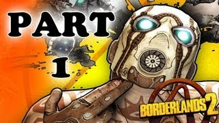 Borderlands 2 - Part 1 - My First GUN :)
