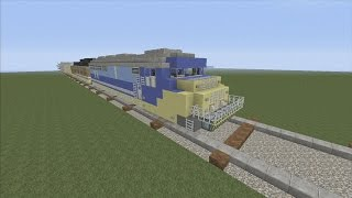 Minecraft xbox Epic Structures: Rannalt's Freight Train