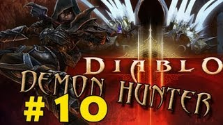 Diablo 3 Demon Hunter Playthrough #10 - The Scoundrel