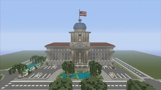 Minecraft xbox Epic Structures: Mineman47's Capitol Building