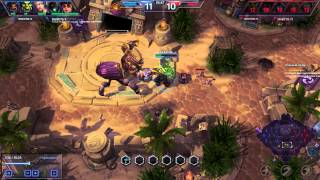 Heroes Of The Storm Тралл 4 тела и босс