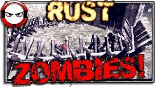 Rust - Zombie experiment (Rust gameplay)
