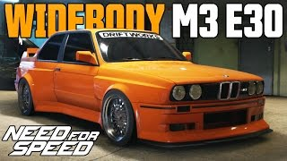 Need for Speed 2015 | WIDEBODY BMW M3 E30 CAR CUSTOMIZATION!