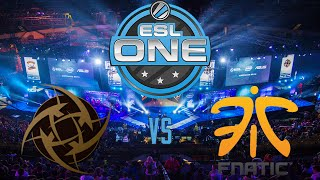 [CS:GO] ESL One Katowice 2015 Final Winning Moment - Fnatic vs. NiP