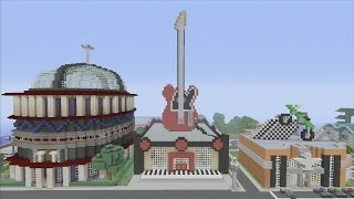Minecraft xbox Epic Structures: SPANKLECHANK'S Music Shop