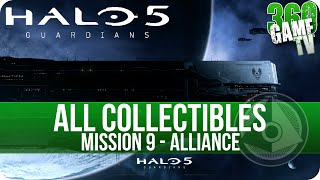 Halo 5 Guardians All Collectible Locations Mission 9 Alliance (All Collectibles Guide Part 9)