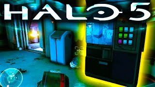 HALO 5 EASTER EGG | Weapon Vending Machine *SPOILERS*