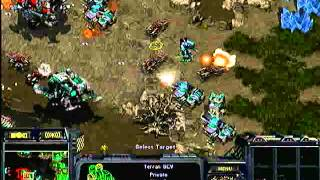 StarCraft Brood War [FPVOD] DreamHack 2009 - Semifinal - BRAT_OK vs MorroW (TvT)
