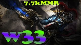 Dota 2 - w33 7.7k MMR Plays Sven Vol 3# - Ranked Match Gameplay