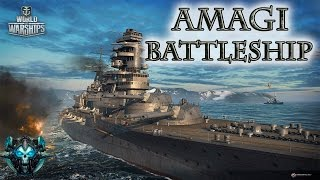 "World of Warships ""Линкор Amagi"" Стрим"