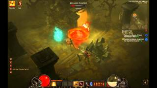 Diablo III - Beacon of Light Acquired Mission Updated, Monk, Scoundrel, Leah, 1080 HD Gameplay PC
