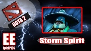 Dota 2 Advanced Guides: Storm Spirit Tips/Guide (maximizing your DPS)