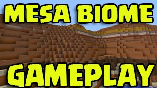 Minecraft PS3, PS4, Xbox - Title Update MESA BIOME GAMEPLAY! TU26 / TU27 / TU28
