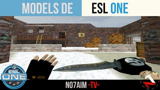 Descargar Models ESL-ONE Para Counter Strike 1.6