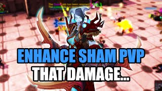 WoD 6.2.2 Enhancement Shaman PvP - BG Commentary, World of Warcraft Warlords of Draenor enhance