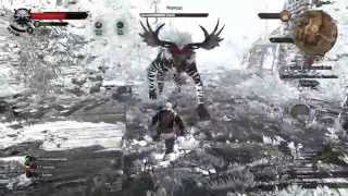 The Witcher 3 morvudd tough severe fight. Морвудд.