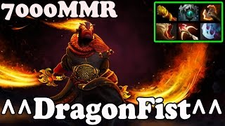 Dota 2 - ^^DragonFist^^ 7000 MMR Plays Ember Spirit - Pub Match Gameplay