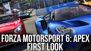 Forza Motorsport 6: Apex (Free Online Racing Game): Watcha Playin'? Gameplay First Look (PC)
