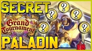 TGT Secret Paladin Deck - Hearthstone Reckful Best Funny Moments - Grand Tournament 5 Secret Paladin