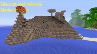 Minecraft seed Xbox 360/PS3 (TU22) #22 hollowed mushroom biome
