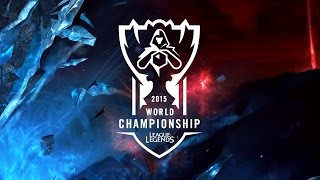 SKT vs AHQ | League of Legends World Championship 2015 - Quarterfinals | SKT T1 vs AHQ Esports