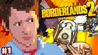 Borderlands 2 - Gameplay Part 1 - Going Commando! (Intro)