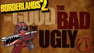TGtBatU: Borderlands 2 Red Text Guns: Bandit Pistols