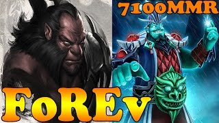 Dota 2 - FoREv 7100 MMR Plays Axe And Storm Spirit - Pub Match Gameplay!